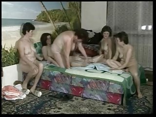 Five Mature Women and One Guy