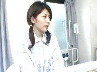 Cute Jap Slut Takes Two Dicks In The Hospital 420