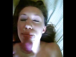 Homemade amateur facial 3