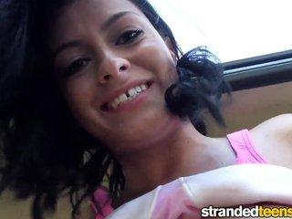 Stranded Teens - Flashing Hitchhiker Nadia