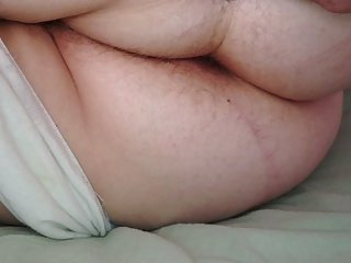 wifes hairy ass in white pantys as she dreams