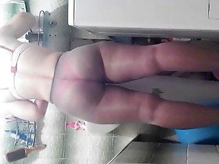 voyeur russian pawg ass