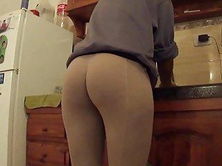 Hot ass in leggings