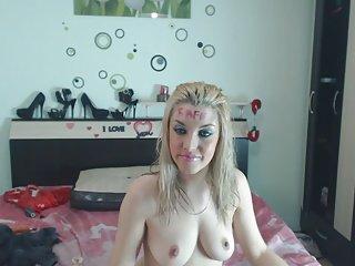 heavy make up