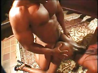 Three Guys Team Up To Fuck Slutty India And Chastity