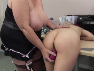 Lesbian mature coach dominated girl