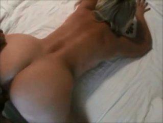 Curvy hot lady doggystyle fuck