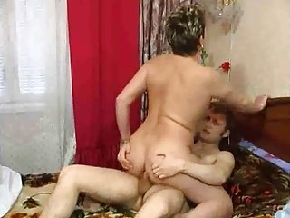 Russian Hot lady and guy - 32