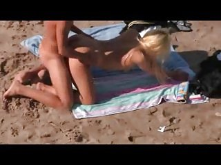 Nude Beach - Cute Blond Doggy