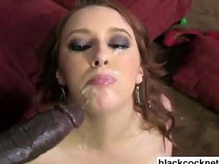 Lex violates a black dick slut