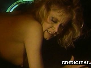 Patty Plenty - 80s Pornstar Having Rough Sex