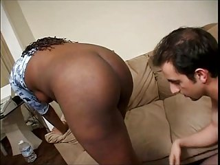 Pregnant Black Girl Fuck And Facialed By White Guy