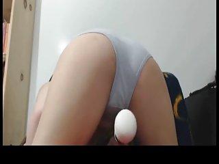 Squirting in her panties