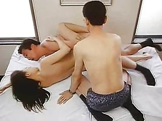 Lady Announcer 2001 (Threesome erotic scene) MFM
