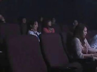 Sanae Aso Groped and Fuck at the Cinema By Stranger 2