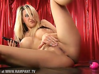Jessica Lloyd Plays With Her Pussy