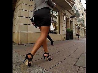 Very Hot Girl in High Heels