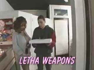Letha Weapons Does The Pizza Guy - Twice