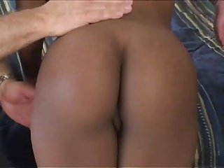 Papa - Black babe gets slamed by a white dude