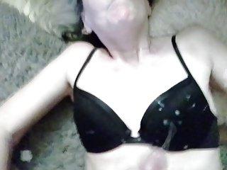 me getting covered in cum