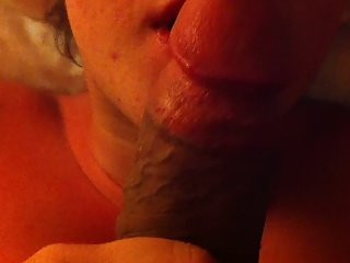POV Pretty girl sucking my Huge Dick