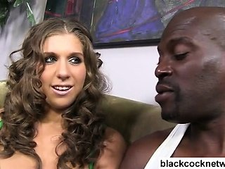 Lex shows off his big black dick