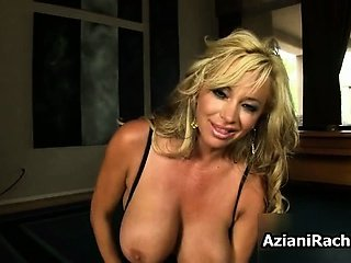 Busty blonde hot lady goes crazy riding part5