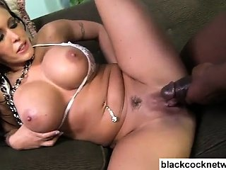 Black dick master ruins whores cunt