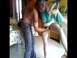 DENHAAGMAN - UGLY DAUGHTER GETS FINGER Fuck