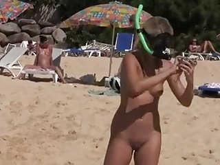 Nude Beach - Hot Girls Camera Shoot