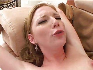 MRY - skinny slut takes on two BBCs