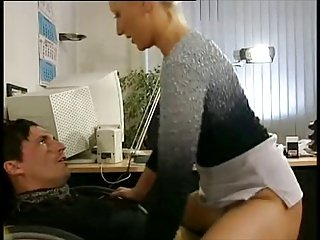 Lady Cop fuck Man to make a confession