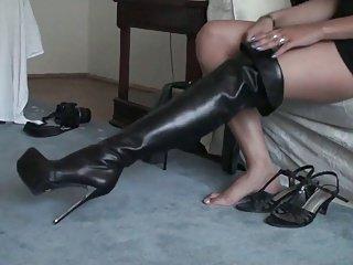 Cancelieri Thigh boots (private clip)