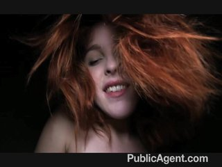 PublicAgent - Naughty redhead getting fuck