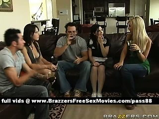 A group of guys and girls talking drinking wine