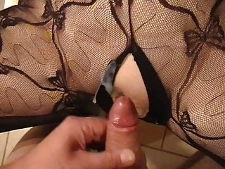 German Hot lady - Catsuit Fuck
