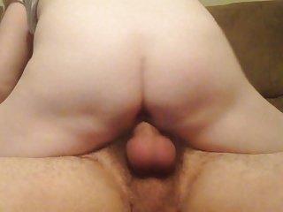 Girlfriend riding my dick