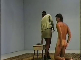 Female Domination - Spank His Butt - 042