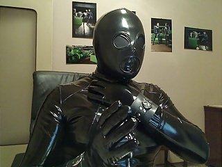 fetish dress e mask 2