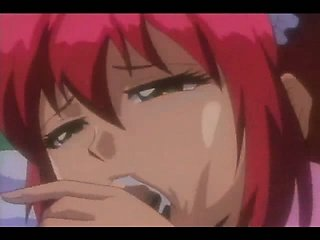 Cute housemaid eating the cum - anime hentai movie