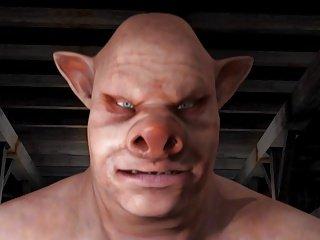 Redgirl vs Pigman