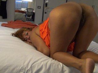 Licking my fucking hole ass