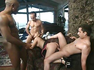 petite slut takes 3 creampies