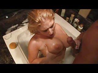 big tit blonde bath fuck