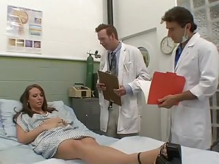 Beautiful Girl Sodomized by 2 Doctors. H.W.