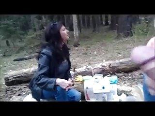 3 Women watch flasher cum