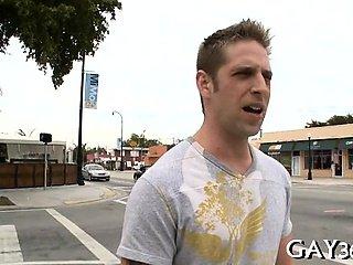Hardcore homo fuck scene