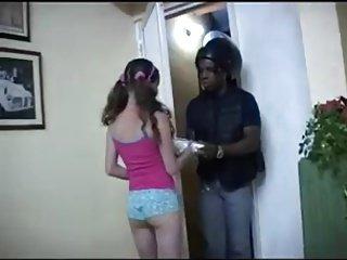 colombiana con un negro
