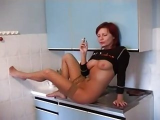 crazy Russian girl