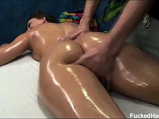 Chanel seduced and fuck hard by her massage therapist